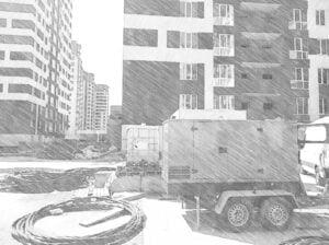 аренда генератора строительства рисунок