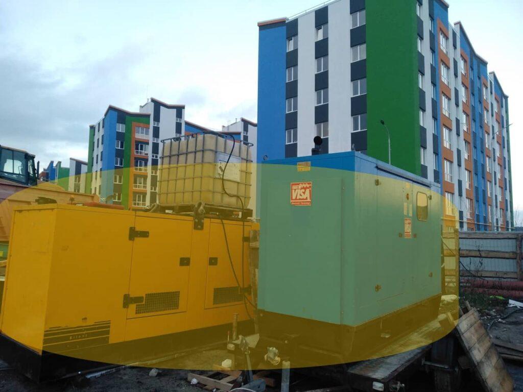 для начала строительства аренда генератора цена