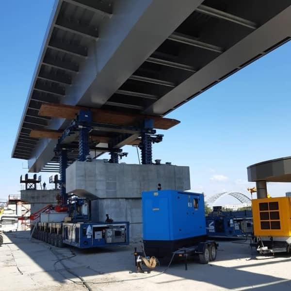 оренда генератора для будівництва мосту