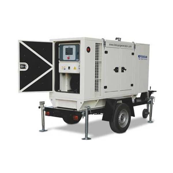 Дизельный генератор 30 кВт в аренду марки Teksan