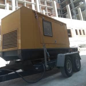 Дизельный генератор 60 кВт в аренду марки Olympian CAT