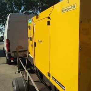 генератор 20 кВт в оренду