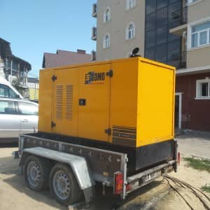 Дизельный генератор 70 кВт в аренду марки SDMO