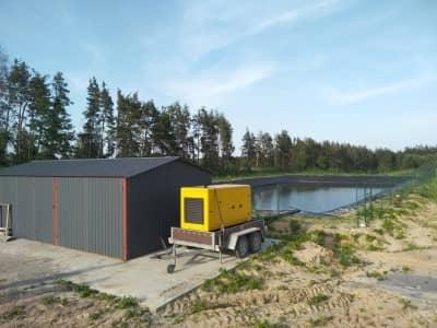 Дизель-генераторна електростанція для зрошувальної системи