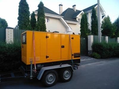 Дизель-генераторна електростанція для приватного котеджу