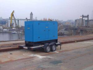 Оренда Дизельної Електростанції Сфера Застосування будівництво мосту