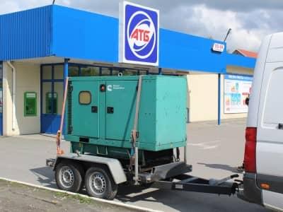 аренда дизельной электростанции для АТБ
