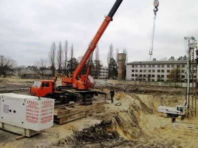 аренда дизельной электростанции для стройплощадки