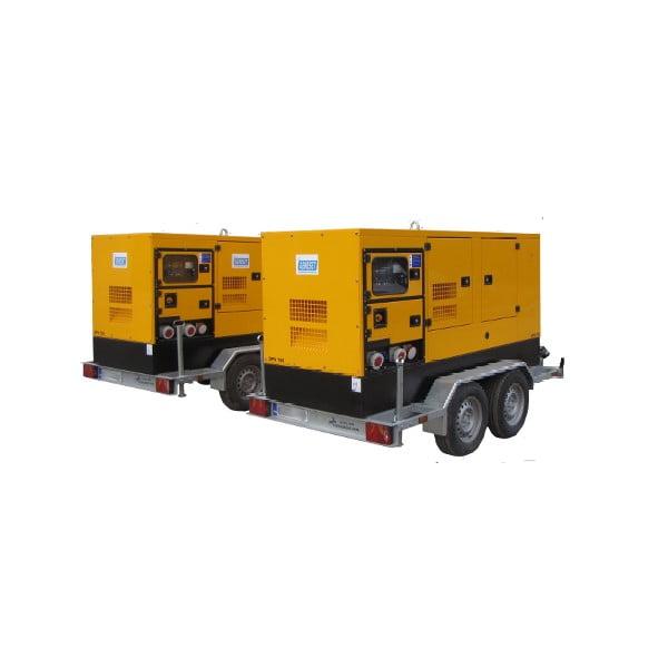 Дизельний генератор 50 кВт в оренду марки SDMO