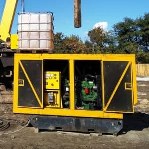 дизель - генератор 120 кВт в аренду John Deere