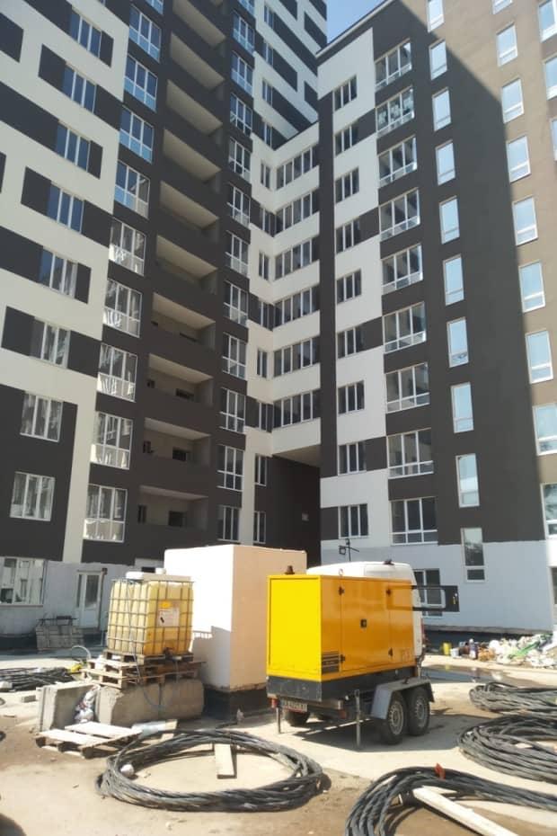 дизельная электростанция в аренду для отделочных работ