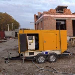 генератор 40 кВт в оренду марки FG Wilson