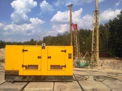 оренда дизельної електростанції для будівельного майданчика