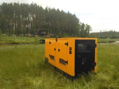 оренда дизельної електростанції для будівництва котеджних містечок