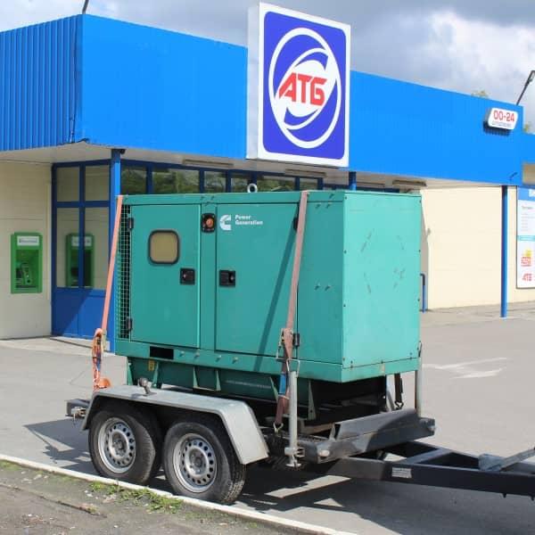 оренда дизельної електростанції для резервного живлення супермаркету