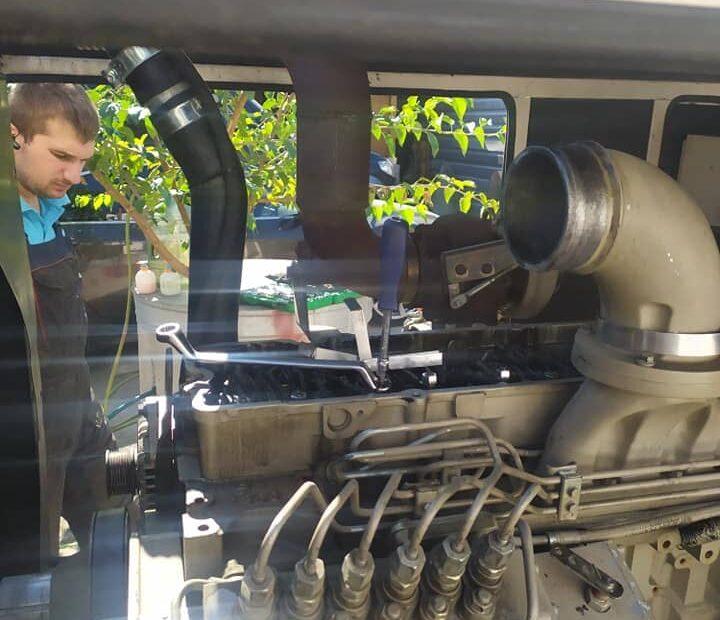 услуги технического обслуживания генератора