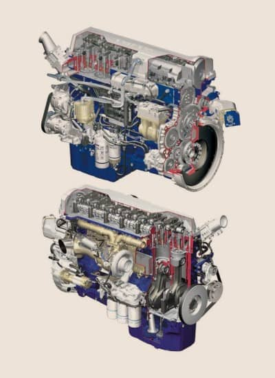 устрій дизельного мотора