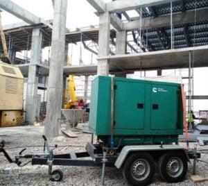 аренда генератора для стройплощадки