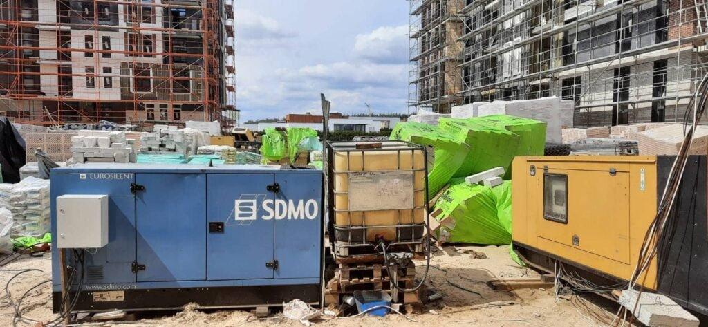 аренда генератора для строительства