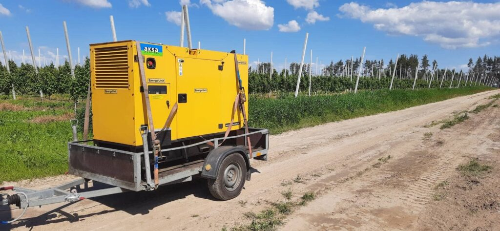 Дизель генератор в оренду для системи зрошення