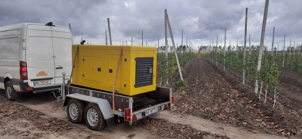 генератор в оренду для системи зрошення