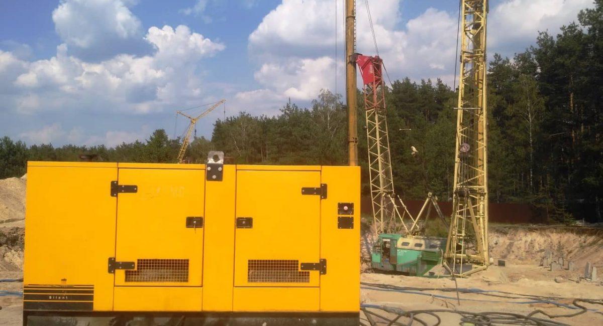 Дизель-генератор для будмайданчика в оренду